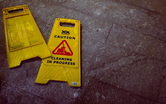 šta treba redovno dezinfikovati znak upozorenja
