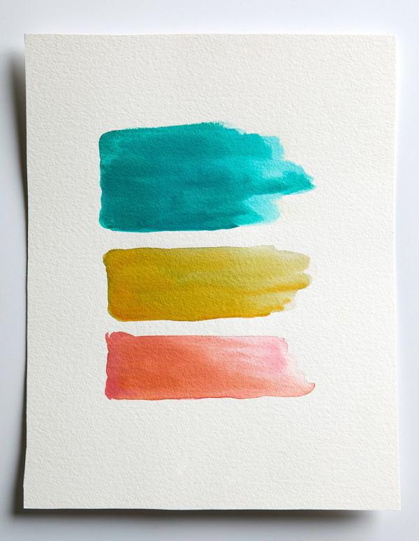 akvarel slike - potezi četkicom