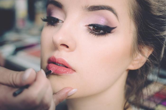 masna koža lica šminkanje
