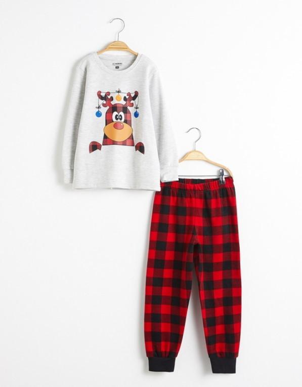 novogodišnja pidžama za decu