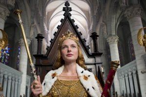 Bela kraljica, istorijska serija po istinitom događaju